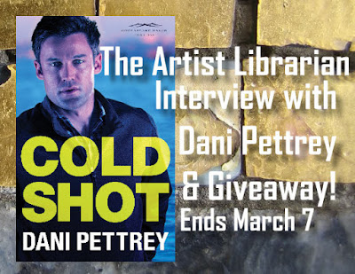 The Artist Librarian Cold Shot Interview & Giveaway with Dani Pettrey - Ends March 7th, 2016!