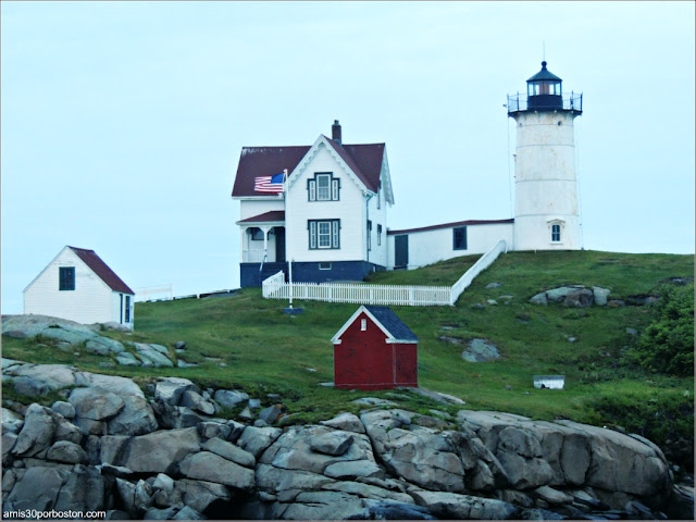 Faro Nubble en Cape Neddick, Maine