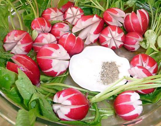 Maigrir avec la m thode montignac phase 1 menu rapide du - Quand cueillir les radis ...