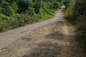 Jalan Penghubung Blok E Menuju Desa Jambu Ancam Keselamatan Pengendara