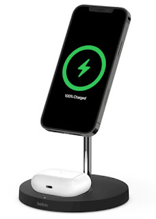 Belkin BOOST↑CHARGE PRO 2-in-1 Wireless Charger Stand price