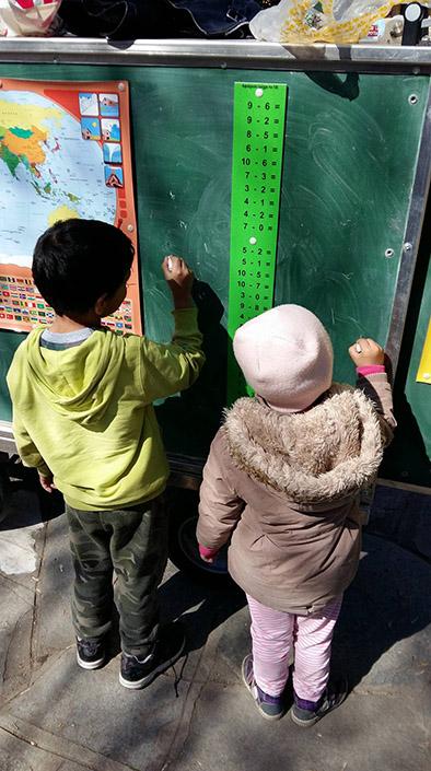 Ξάνθη: «Το Mobile School Ταξιδεύει» σε καταυλισμούς Ρομά