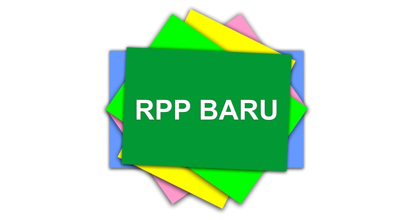 Rencana Pelaksanaan Pembelajaran (RPP) Versi Baru