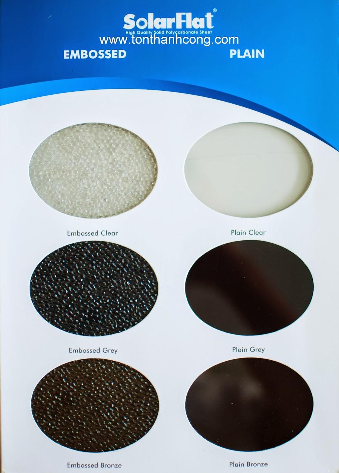 Catalogue Tấm Lấy Sáng Polycarbonate Đặc Ruột SolarFlat - Trang 2