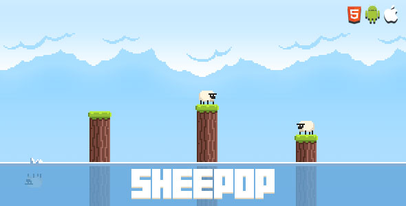 Sheepop - HTML5 Mobile Game