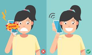 [إنتبه] إنفجار هاتف أثناء شحنه على وجه فتاة أثناء زيارتها لوالدتها في المستشفى