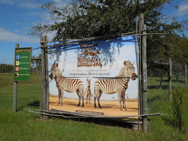 Safari Wilderness Ranch entrance