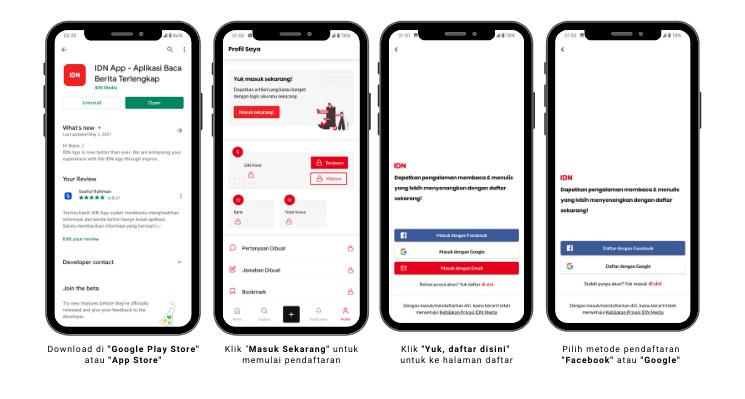 Daftar Aplikasi IDN App