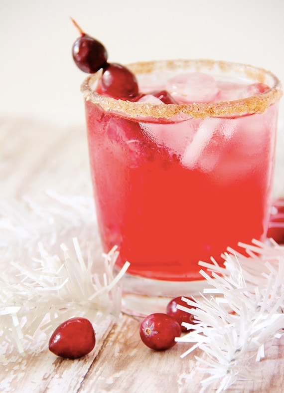 Cranberry Fizz Mocktail from Thistlewood Farms