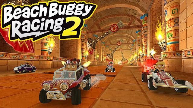 تحميل لعبة Beach Buggy Racing 2 مهكرة