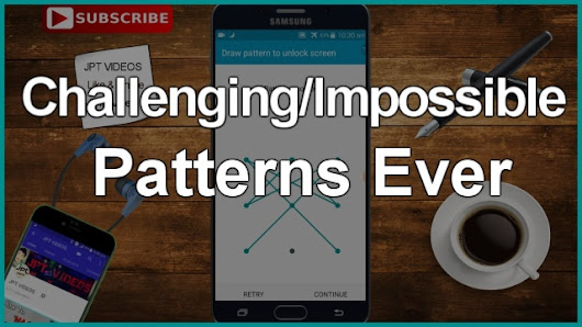 Top 10 Best/Impossible Phone Patterns Ever