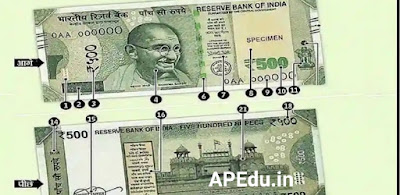 Fake Currency: Is the Rs.500 note in your pocket real?  RBI special instructions to detect counterfeit notes.