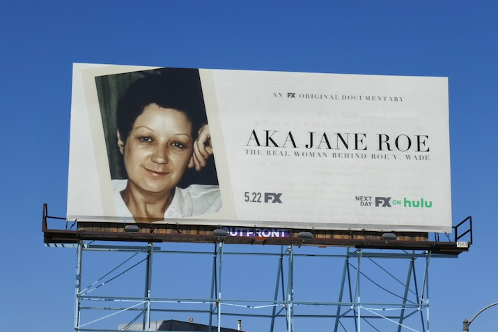 AKA Jane Roe documentary billboard