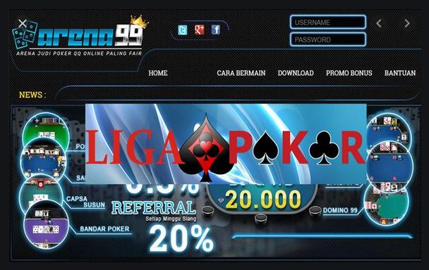 Situs Poker Resmi Mudah Menang Arena99
