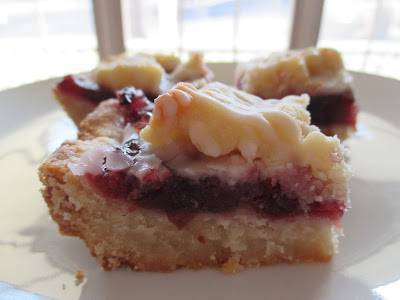 cherry-almond bar