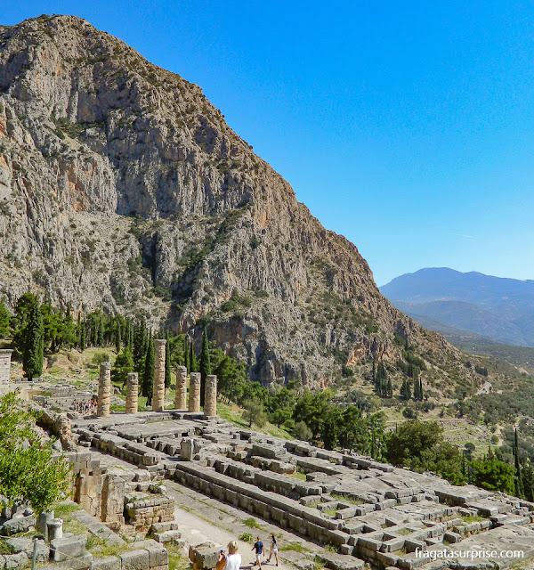 Santuário de Delfos, Grécia
