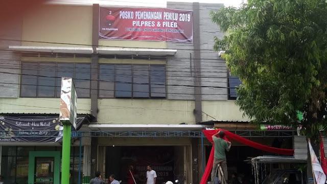 PDIP Juga Buat Posko Dekat Rumah Jokowi, Nyaris Berhadapan Markas Prabowo