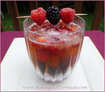 Berry Sangria | recipe developed by www.BakingInATornado.com | #recipe #drink