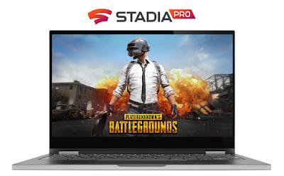Battlegrounds auf Stadia