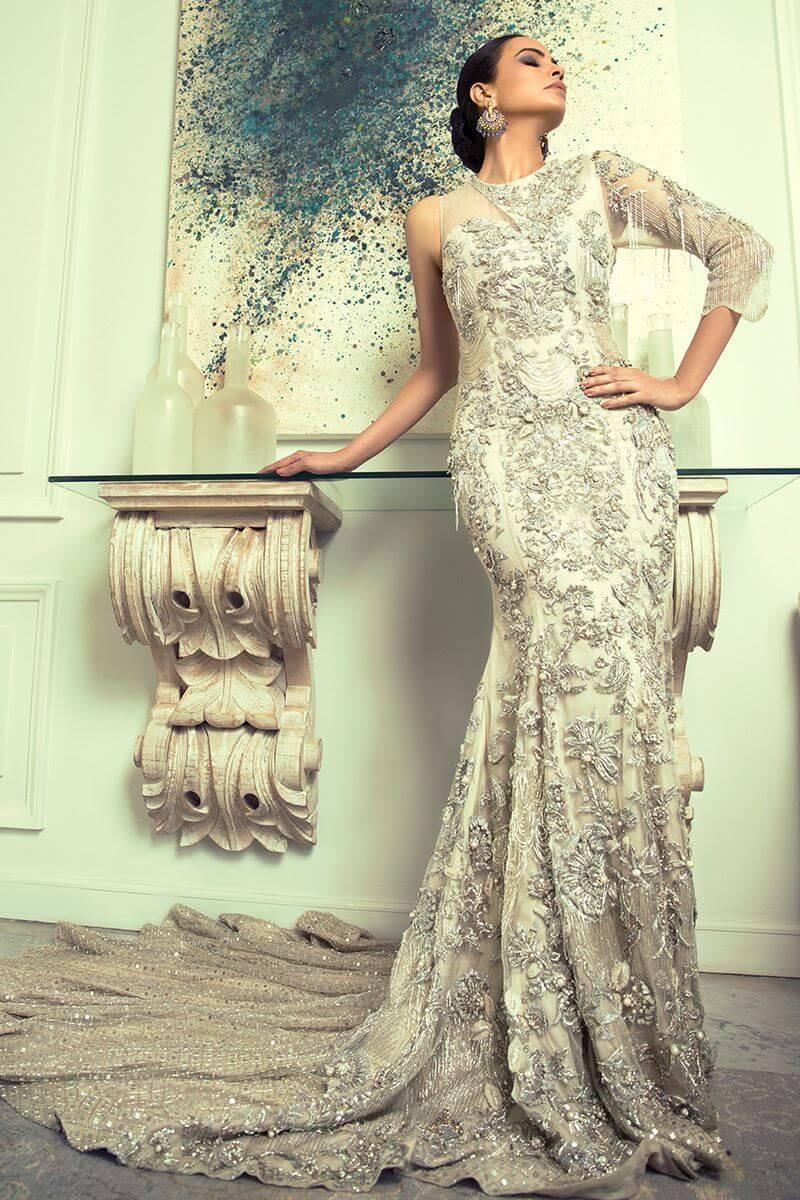 Shamsha Hashwani Bridal Gown