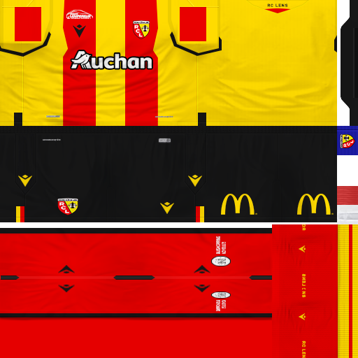 Ultigamerz Pes 6 Rc Lens 2020 21 Gdb Kits