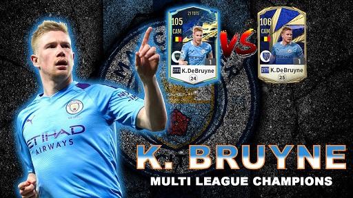 FIFA ONLINE 4 | Review Kevin De Bruyne 21 TOTS vs TOTY