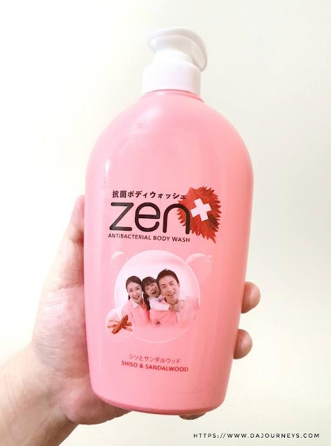 [Review] #ZENAntiBacterial Body Wash Shiso & Sandalwood