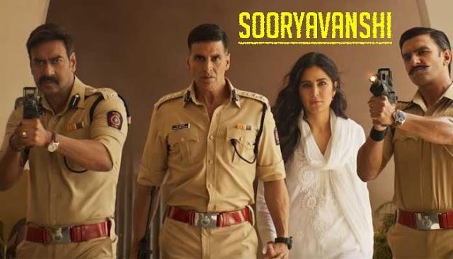 Sooryavanshi Full hd Movie Download {720p, 480p} Leaked By Filmywap, Movierulz