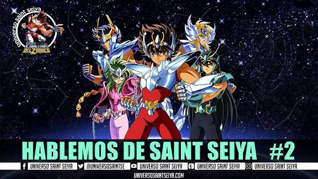 10x14 HABLEMOS DE SAINT SEIYA #2 - EN VIVO
