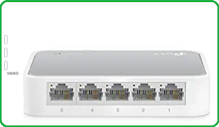 TP Link TL-SF-10050 5 ports and 10/100 mbps Desktop switch