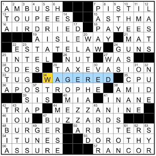 Rex Parker Does the NYT Crossword Puzzle: Colorado's official state