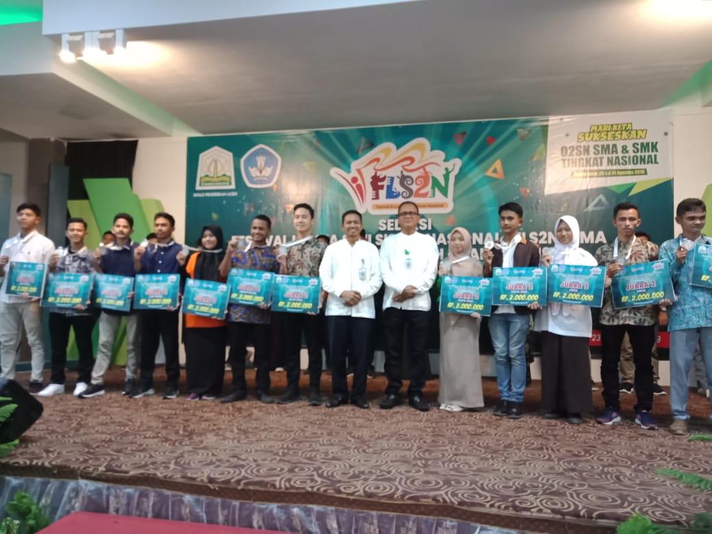 Kota Banda Aceh Juara Umum Fls2n Sma Tingkat Provinsi Aceh 2019 Aceh Nasional News