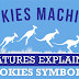Pokies Machine Features Explained Pokies Symbols #infographic