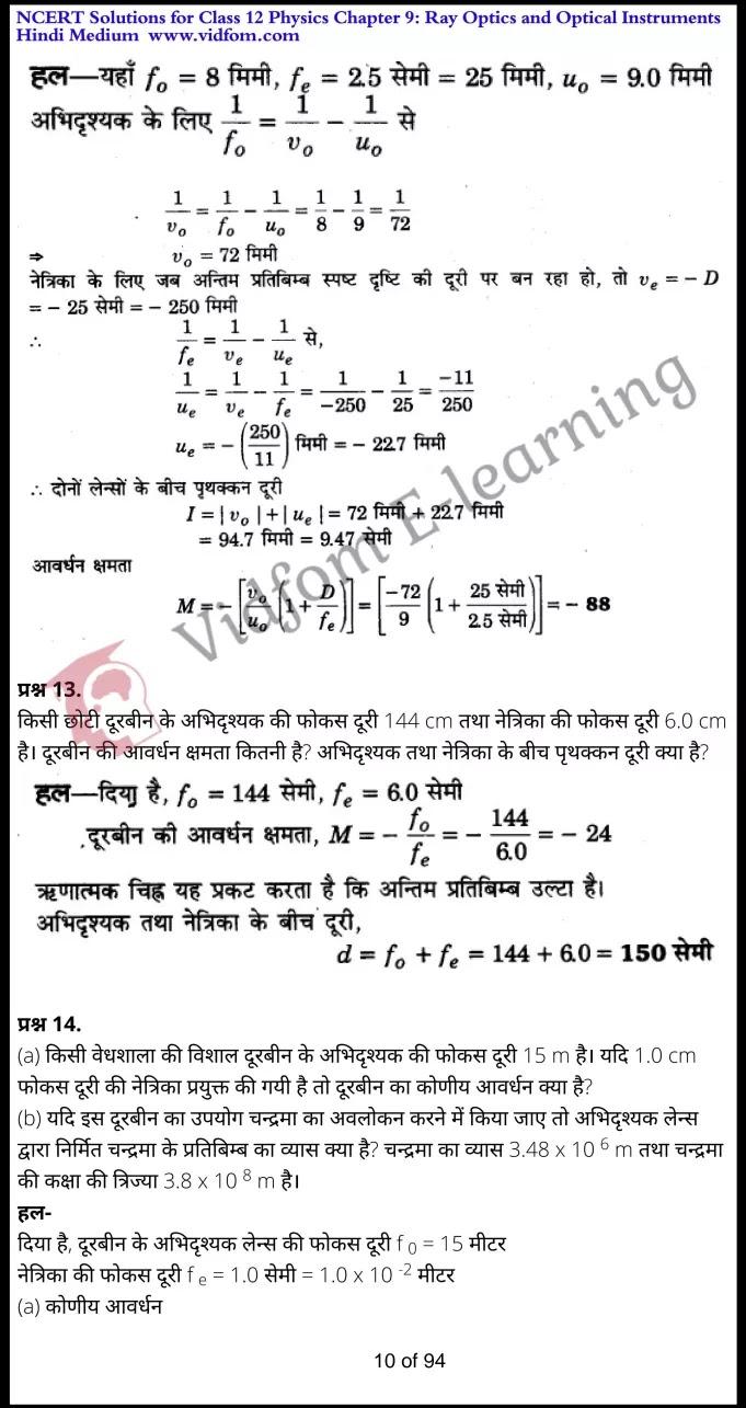 class 12 physics chapter 9 light hindi medium 10