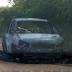 Dois corpos carbonizados são encontrados dentro de carro em Serrinha