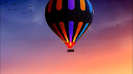 Hot air balloon 4k mobile wallpaper