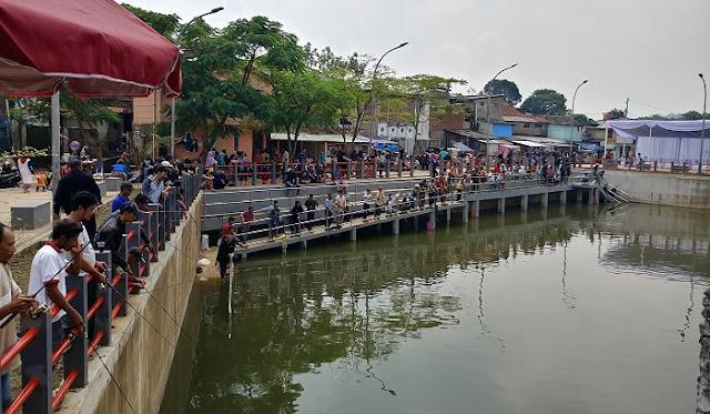 Kolam Retensi Sirnaraga Bandung, Tempatnya Mancing Gratis
