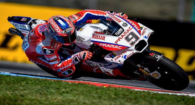 FP2 Misano: Rider Tuan Rumah Danilo Petrucci Sukses Jadi Yang Tercepat,, Satelit Ducati Ngibriit...!!