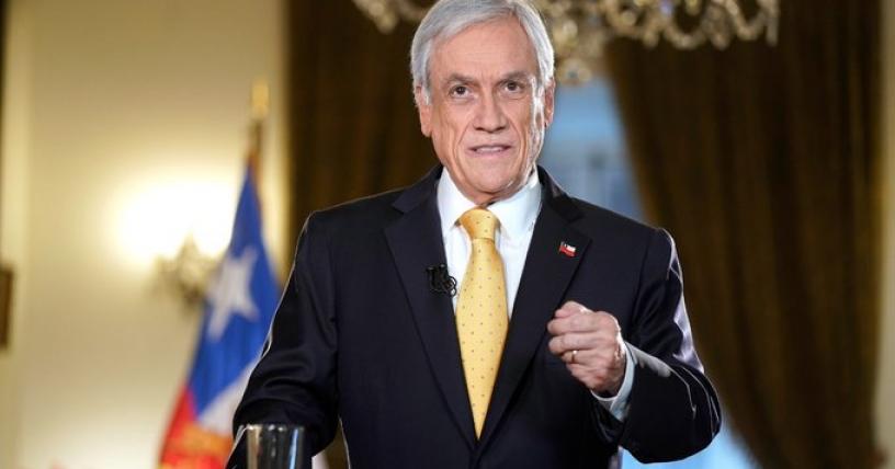 Piñera anuncia agenda antiabusos