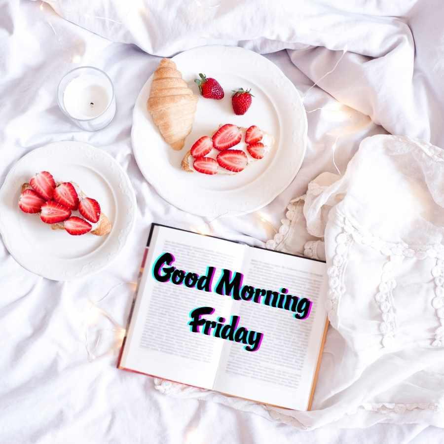 happy friday good morning image