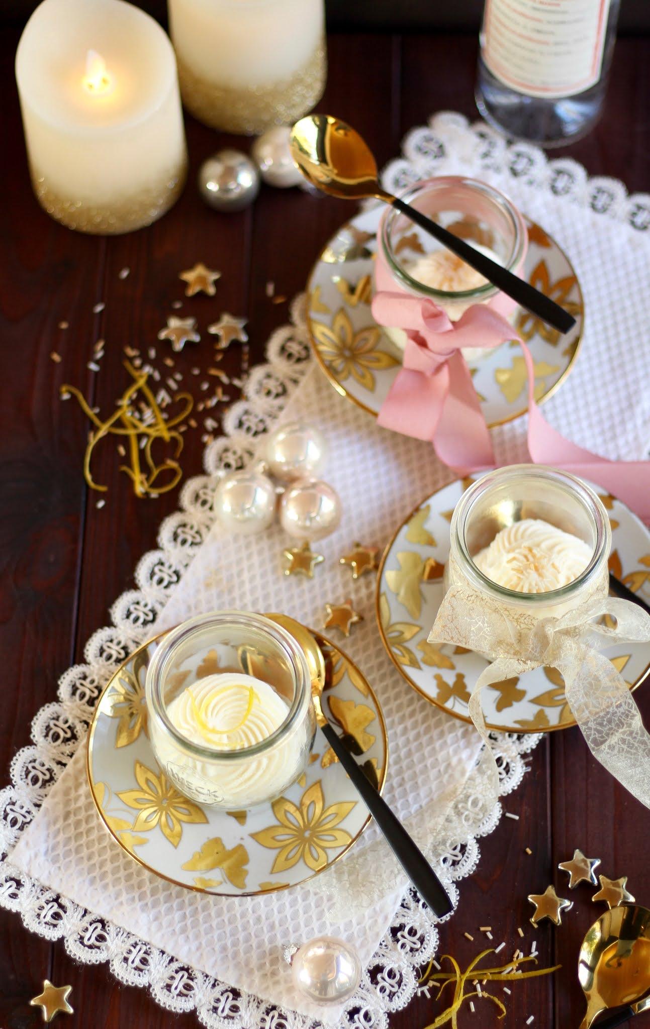 Feines Weihnachtsdessert mit Zitrone und Grappa: Crema del Lario - Rezept und Video von Sugarprincess | SCCC 2020: Türchen Nr. 20 | Gewinnspiel