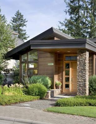 Rumah minimalis konsep rustic  PT Prospera Jaya Group