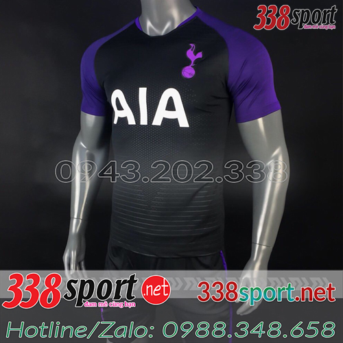 Áo Tottenham Tím Than 2018 2019 Training 1