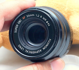 Lensa Fujinon XF 35mm F2 R WR Bekas
