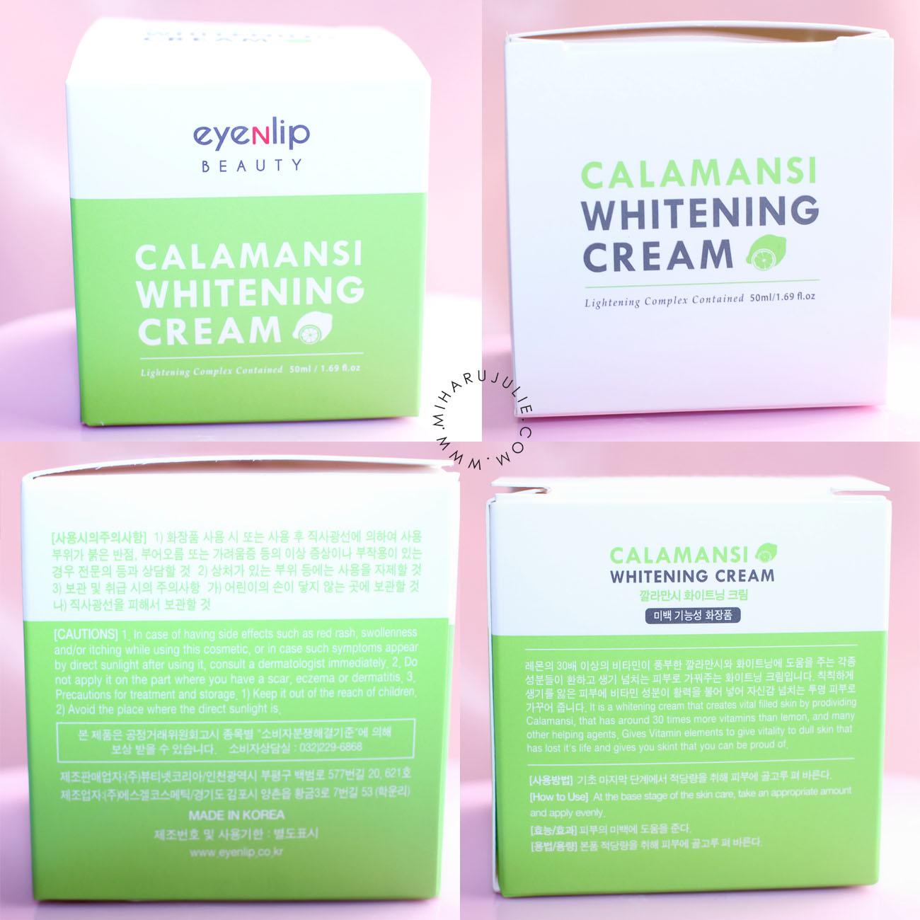 eyeNlip Calamansi Whitening Pack