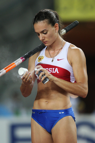 sports star yelena isinbayeva