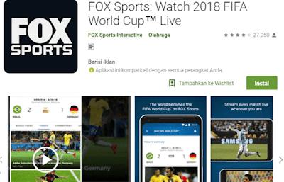 aplikasi fox sport live world cup russian 2018