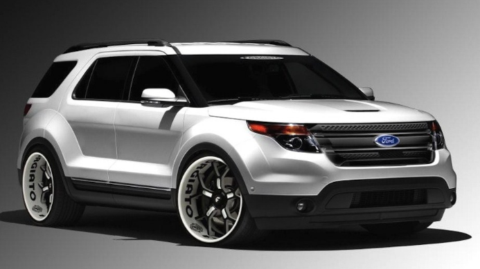 2017 Ford Explorer Sport Trac - Ford References