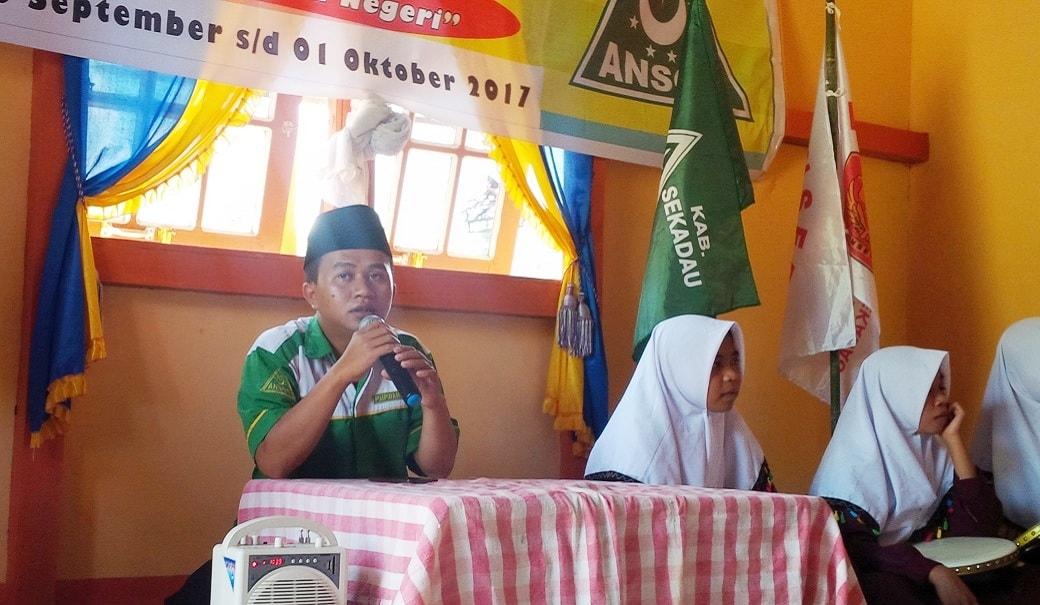 Ketua GP Ansor Muhyi Sidiq