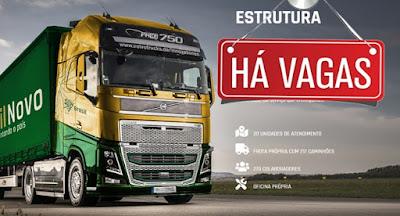 vaga para motorista Brasil Novo